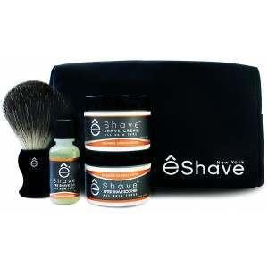 êShave 41004 Orange Sandalwood Shaving Start Up Kit