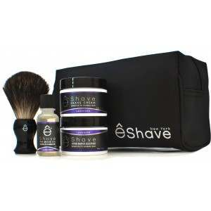 êShave 41005 Lavender Shaving Start Up Kit