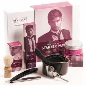 Men Rock MRSRPACK The Straight Razor Start Up Kit