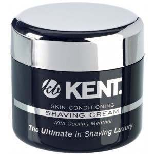 Kent SCT2 Skin Conditioning with Menthol Shaving Cream