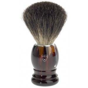 Edwin Jagger PPS-181P23 Imitation Tortoise Shell Shaving Brush